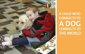 Photo courtesy of Autism Service Dogs of America